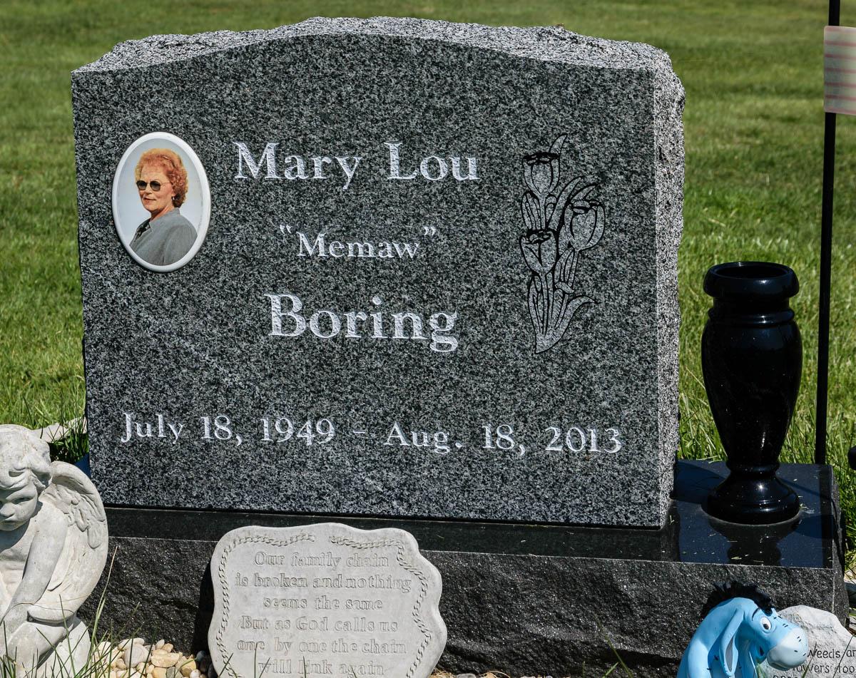 Mary Lou <i>Gindlesberger</i> Boring