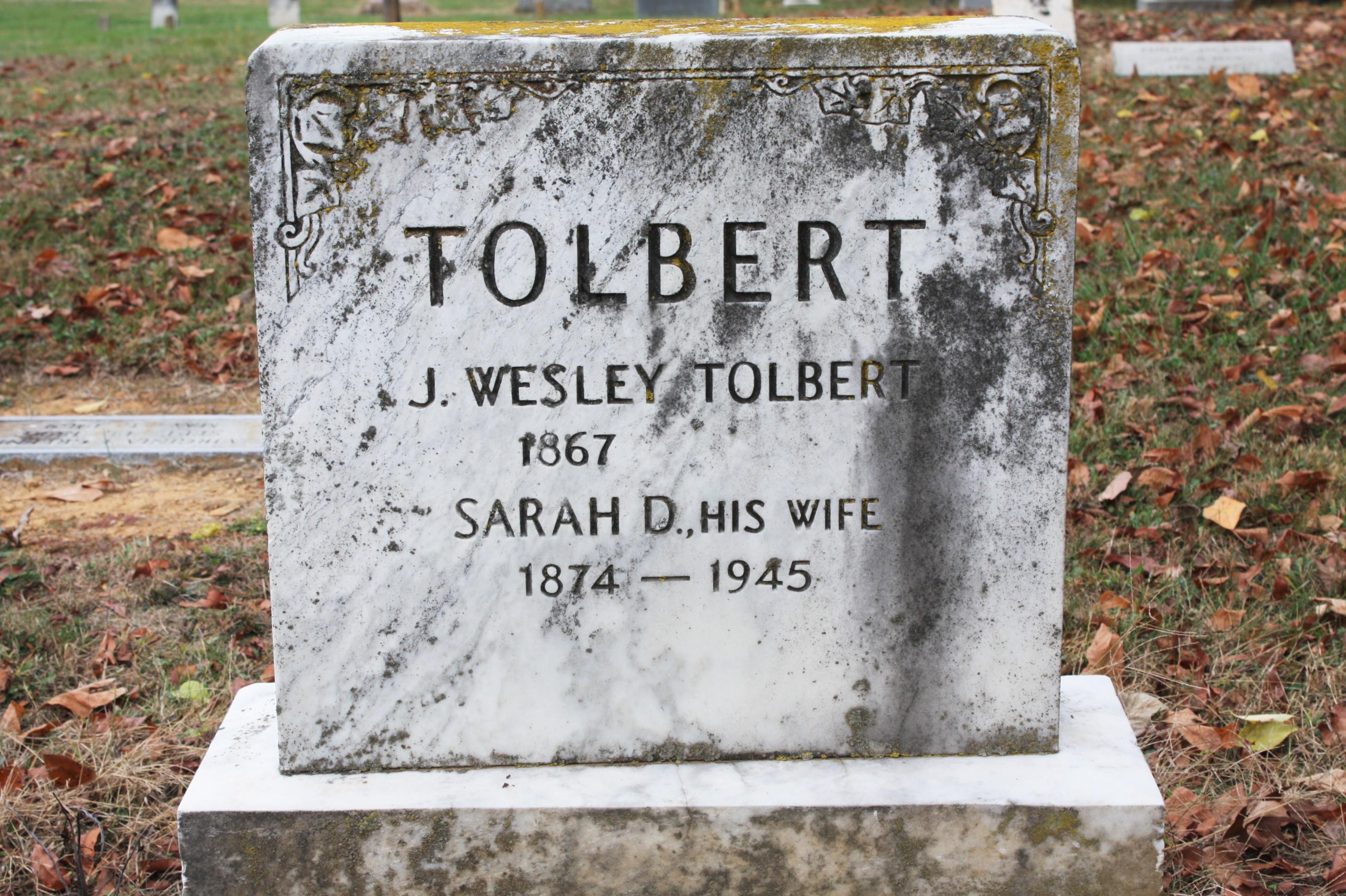 John Wesley Tolbert