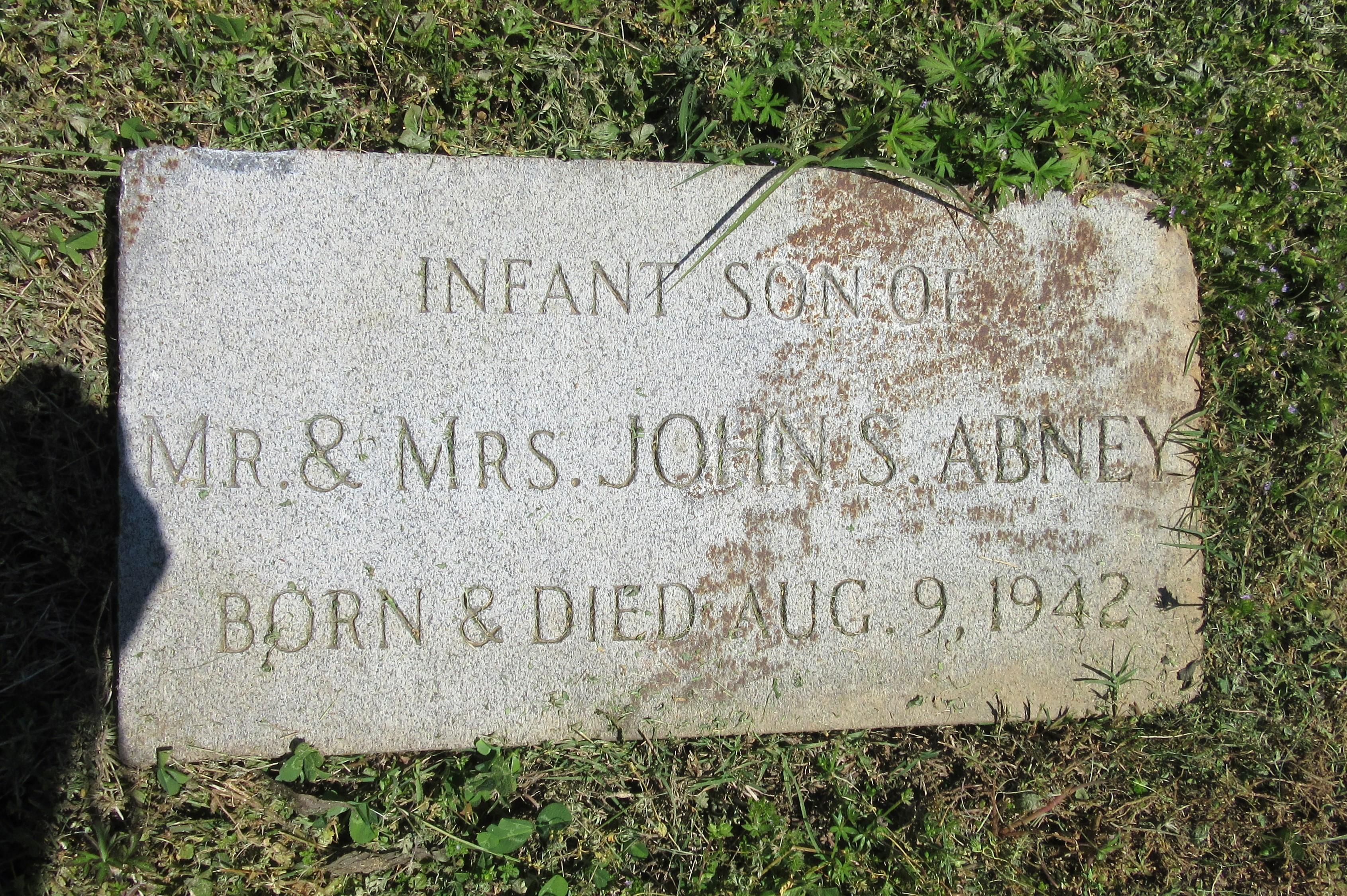 Infant Abney