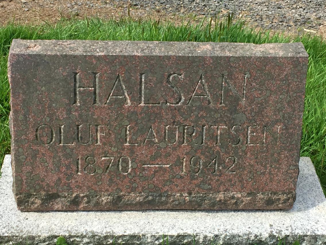 Oluf Lauritsen Halsan