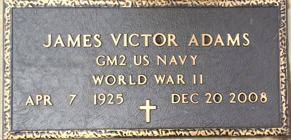 James Victor Vic Adams