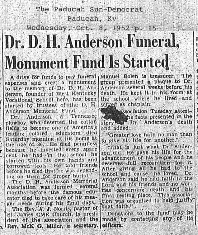 Dr Dennis Henry Anderson