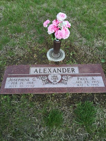 Josephine Grace <i>Zimmerman</i> Alexander