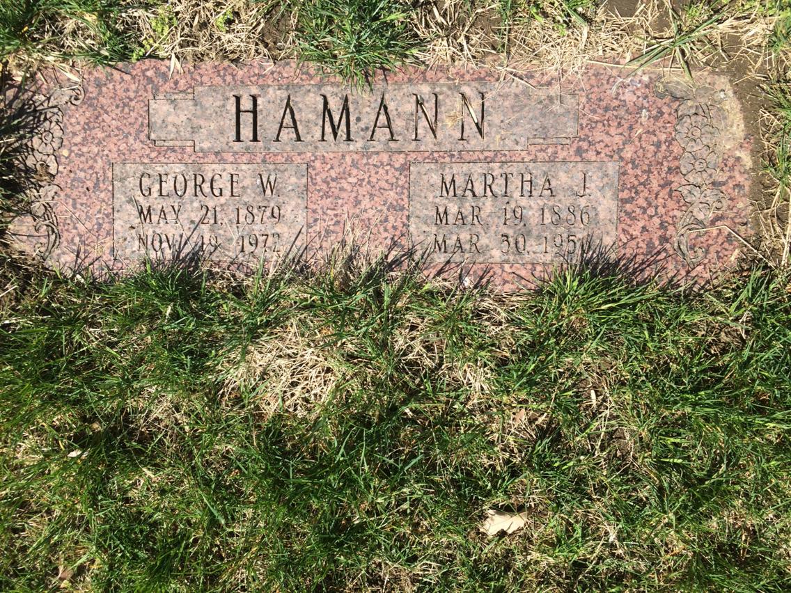 Martha Johanna <i>Koch</i> Hamann