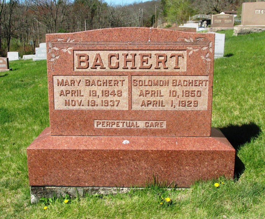 Mary <i>Schaffer</i> Bachert