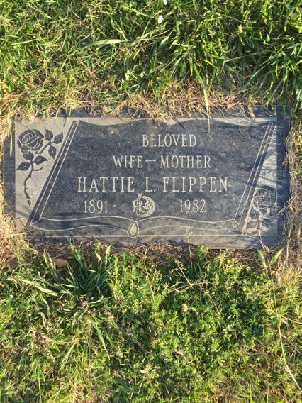 Hattie Lee <i>Edwards</i> Flippen