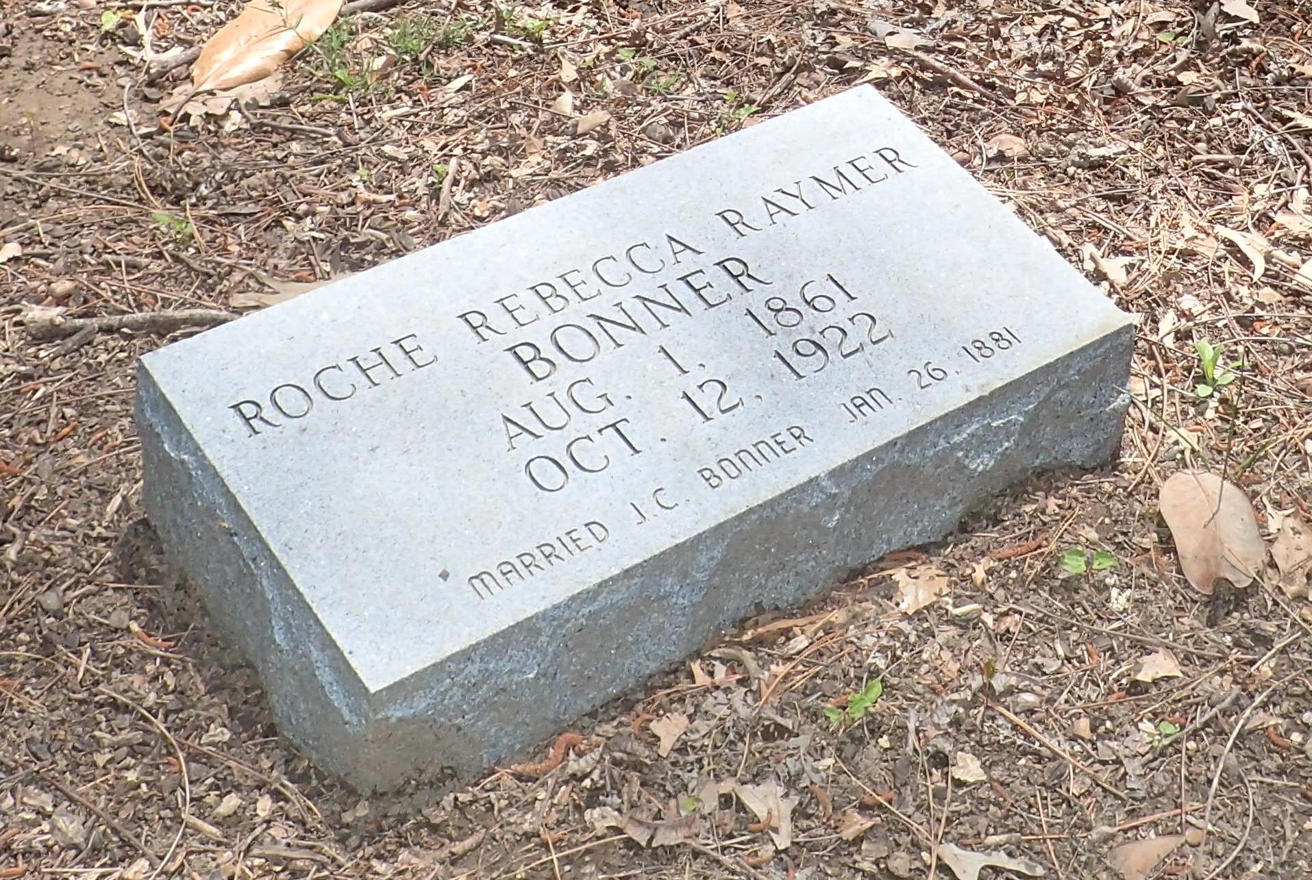Roche Rebecca <i>Raymer</i> Bonner