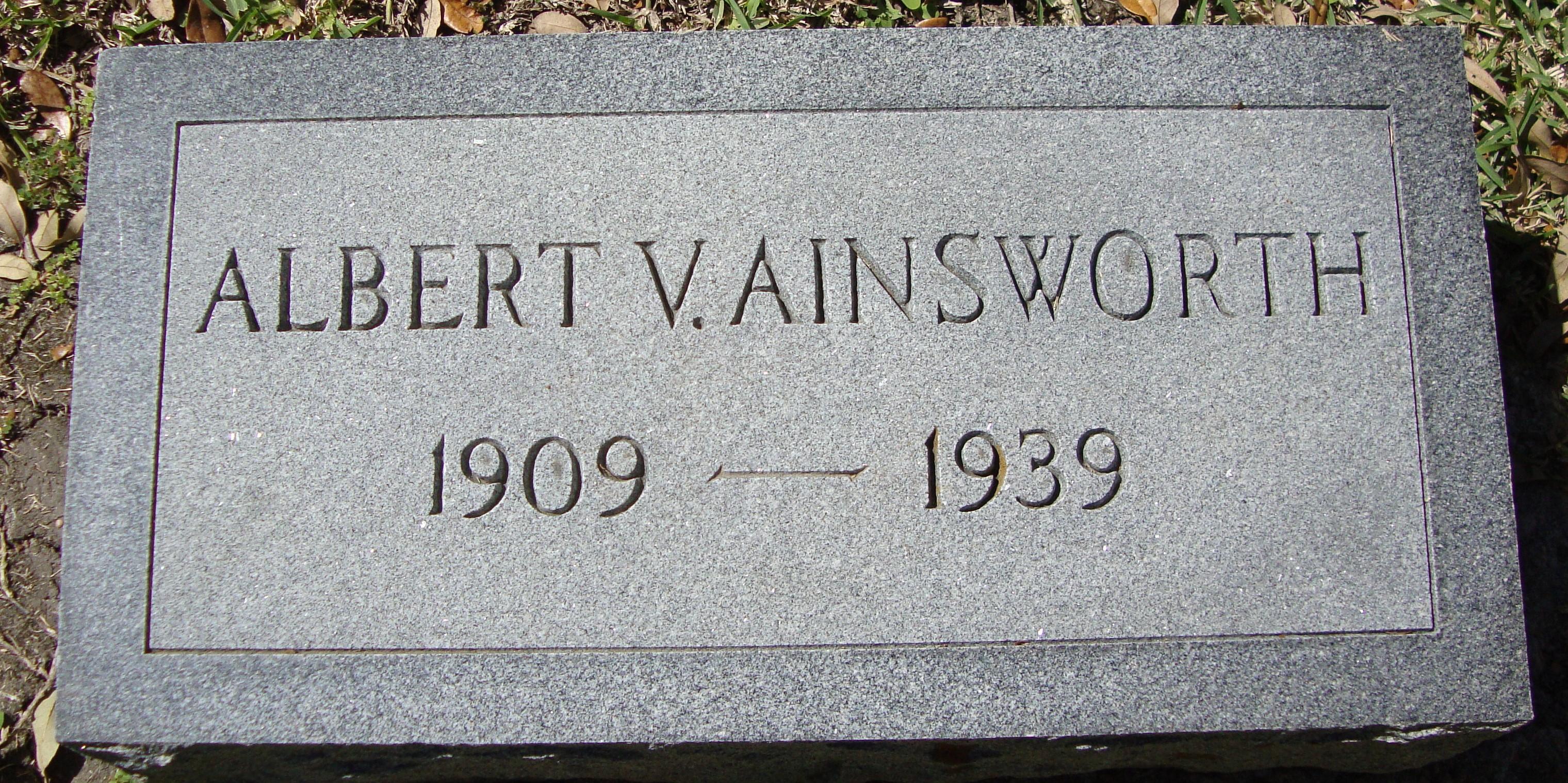 Albert V. Ainsworth