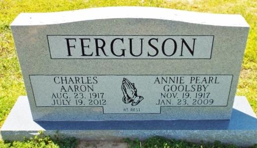 Annie Pearl <i>Goolsby</i> Ferguson