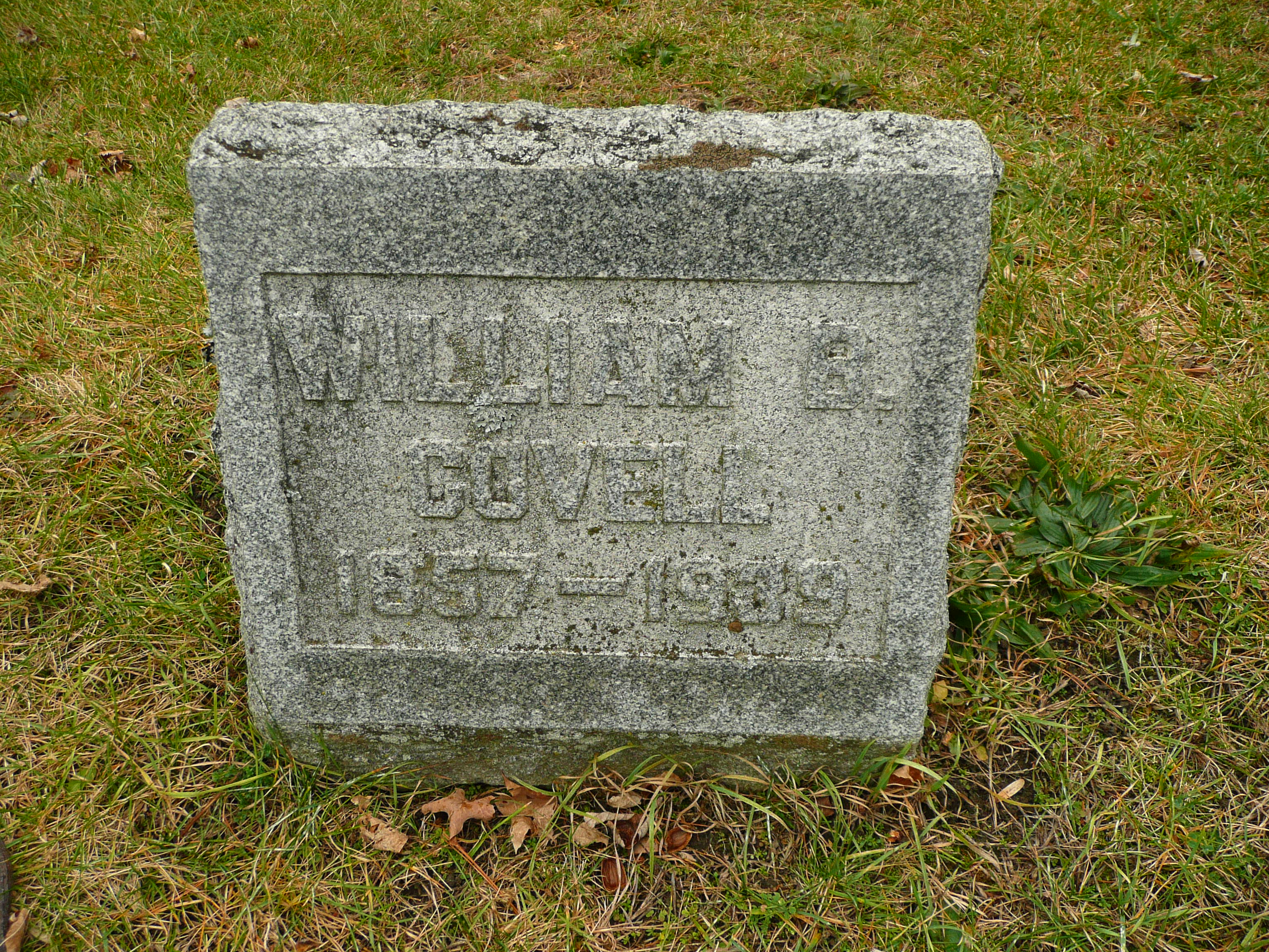 William B Covell