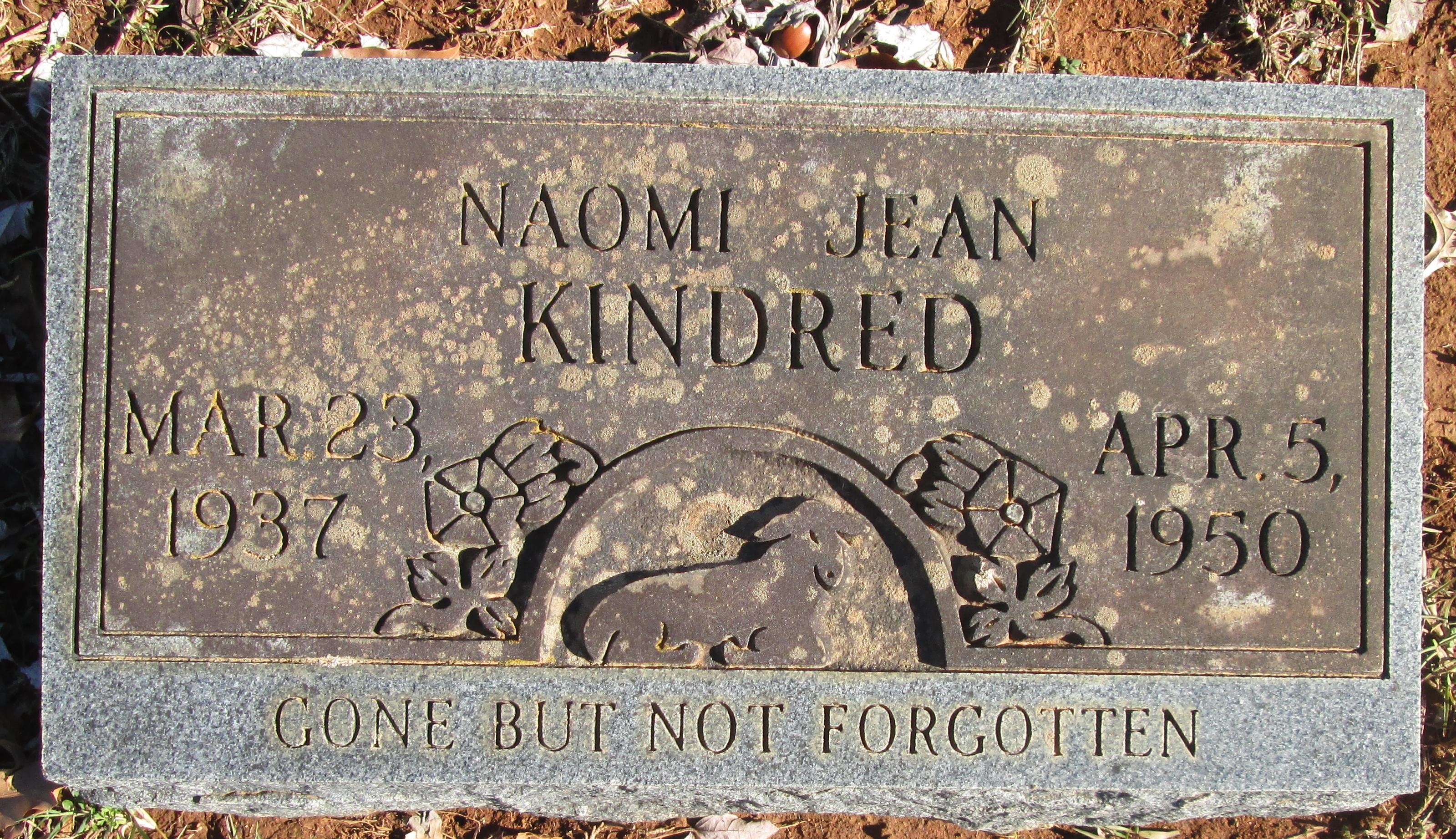 Naomi Jean Kindred