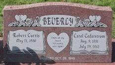 Carol <i>Cedarstrom</i> Beverly