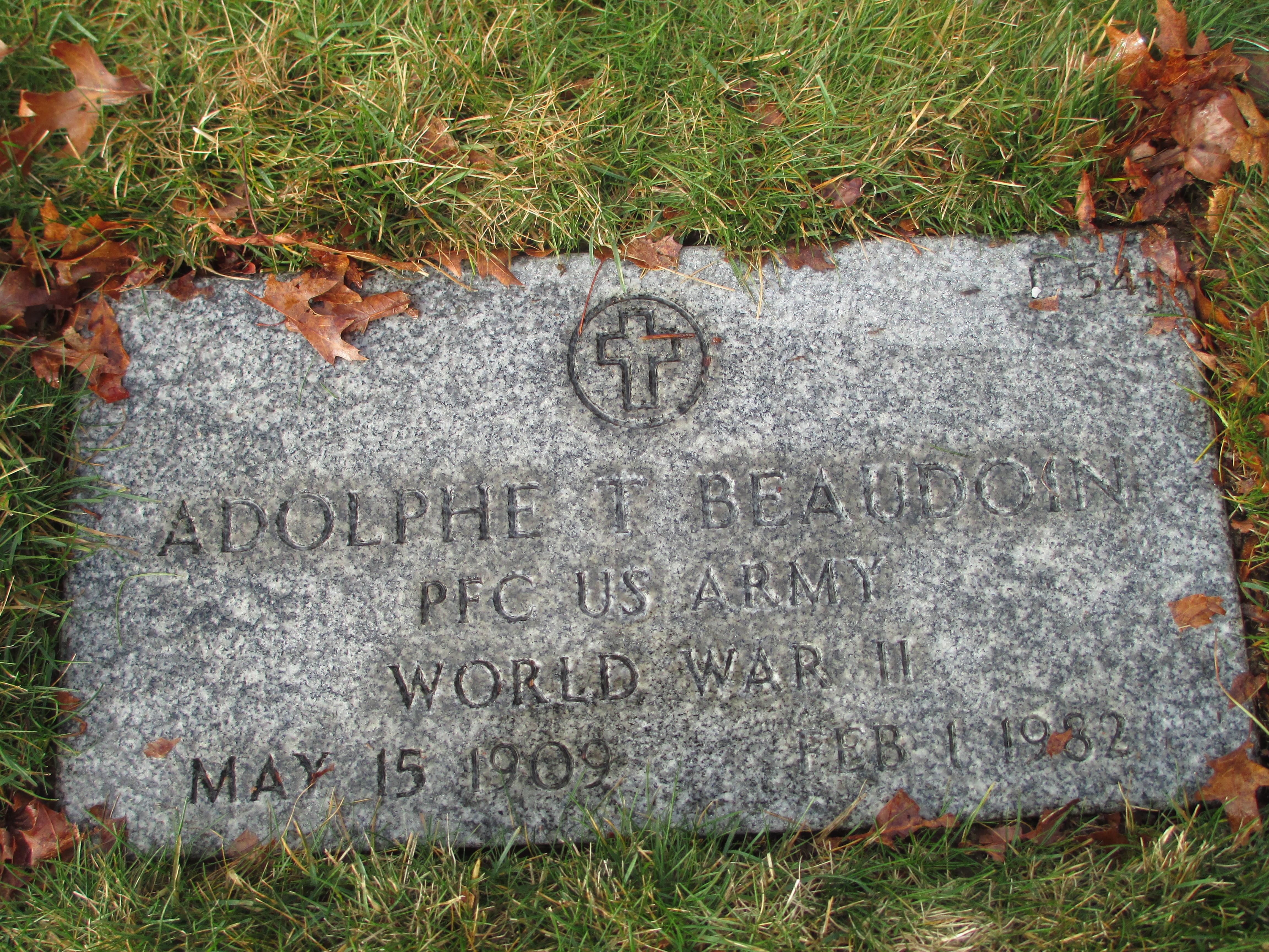 Adolphe T Beaudoin