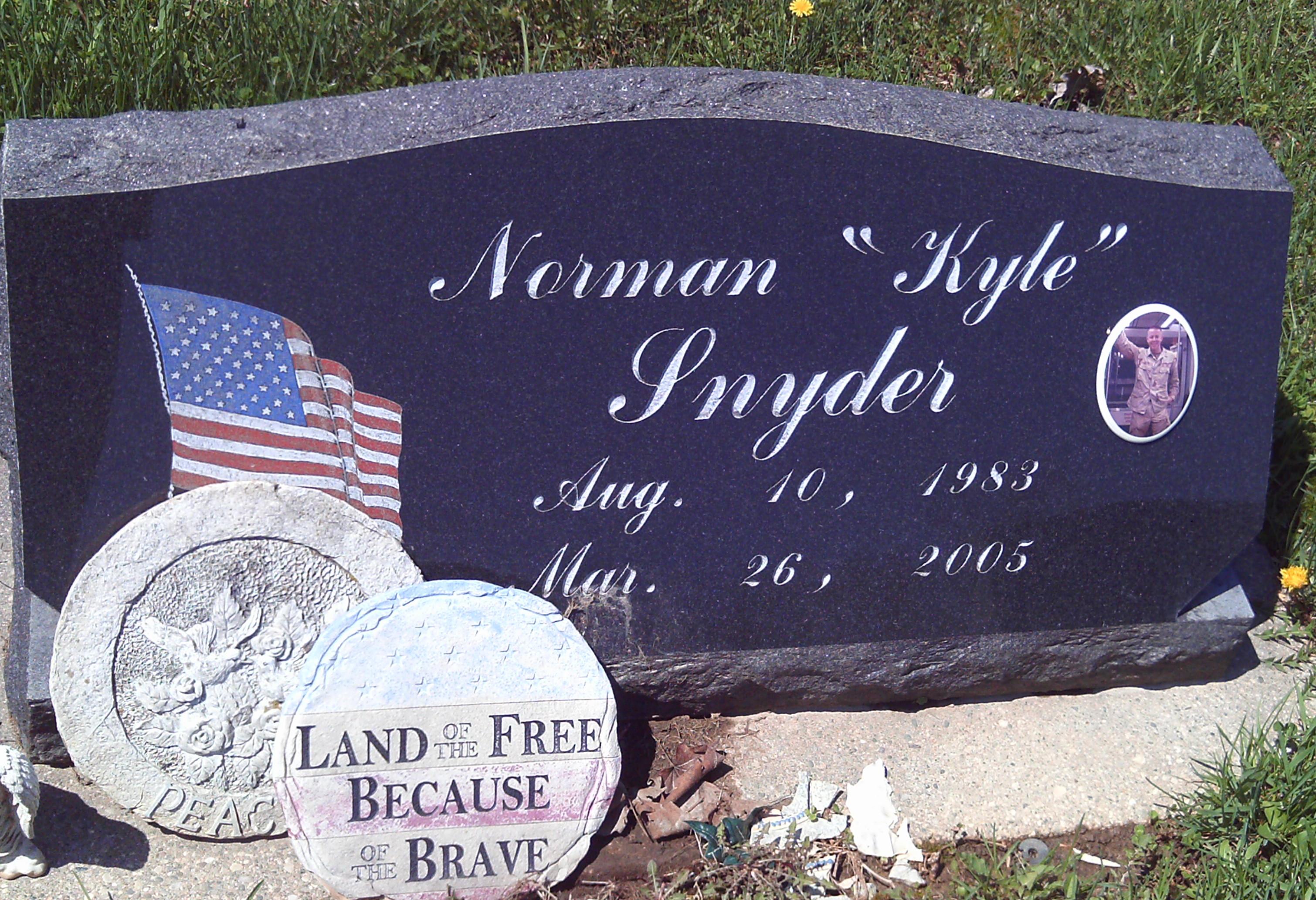 Norman Kyle Snyder