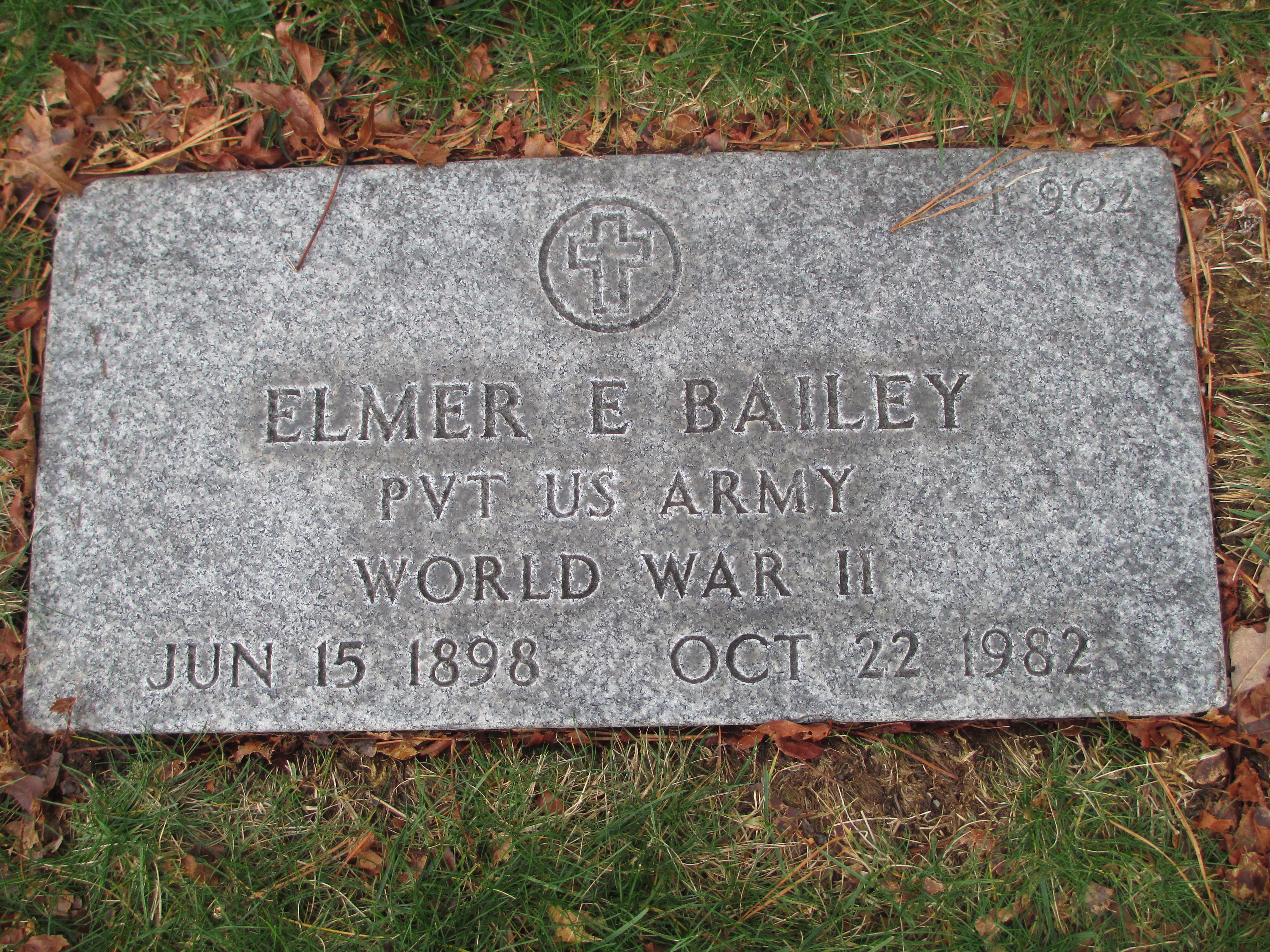 Elmer E Bailey