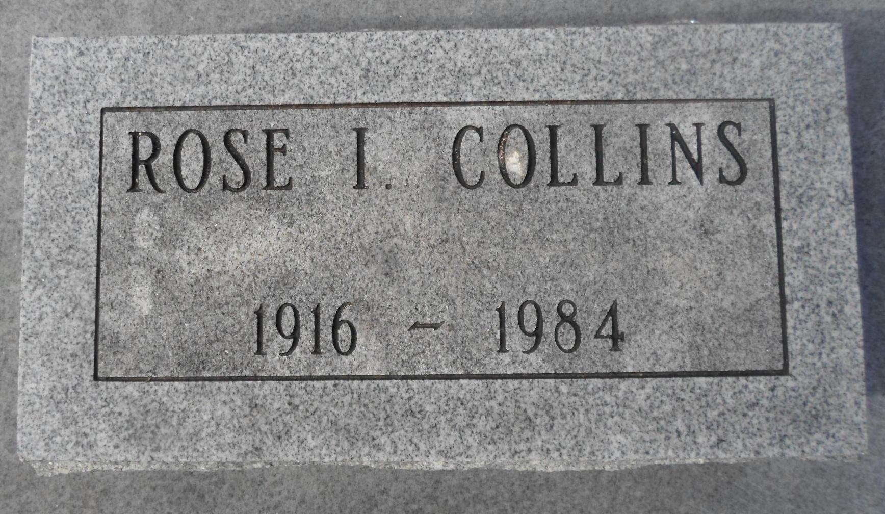 Rose Irene Collins