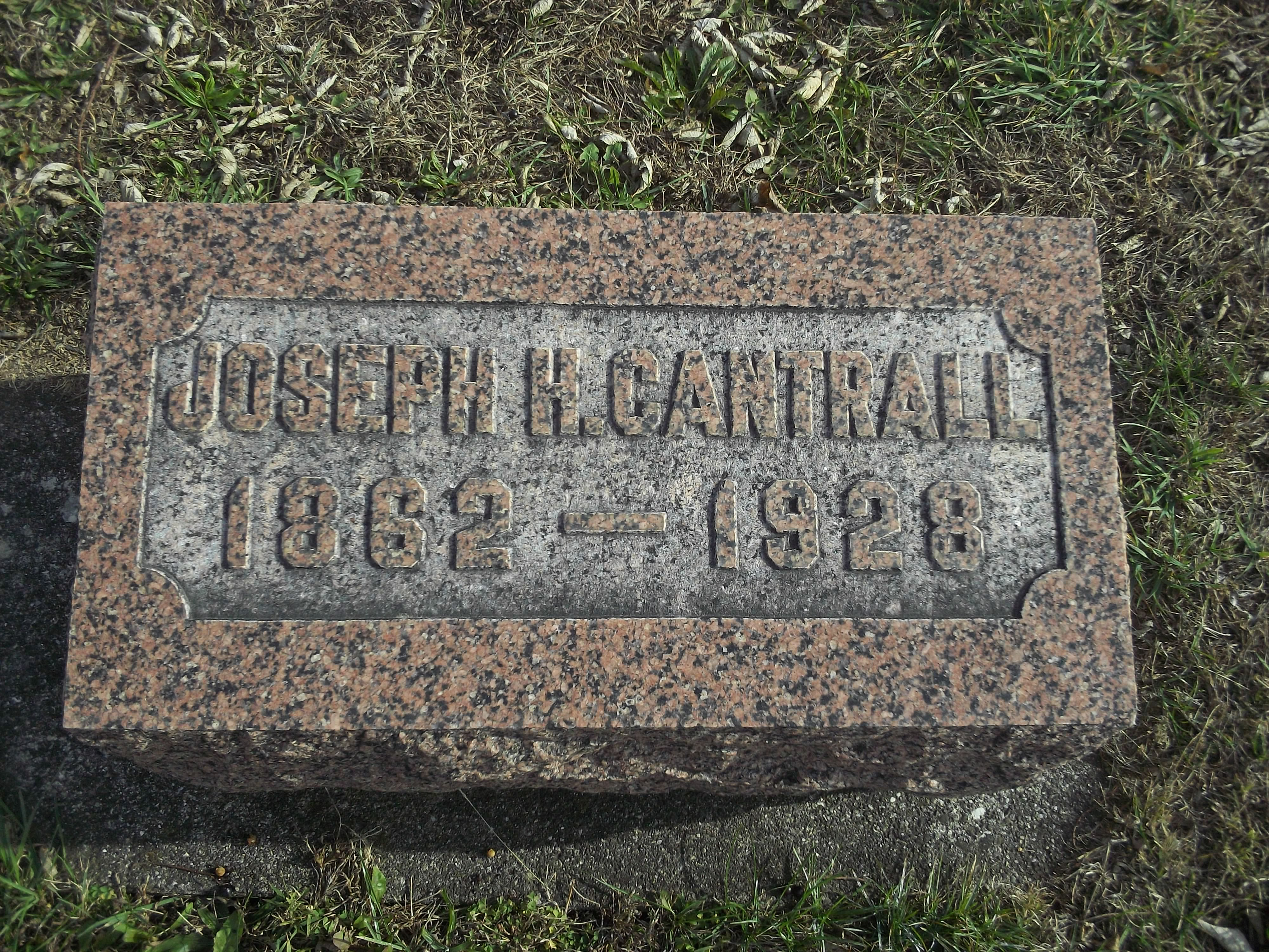 Joseph H Cantrall