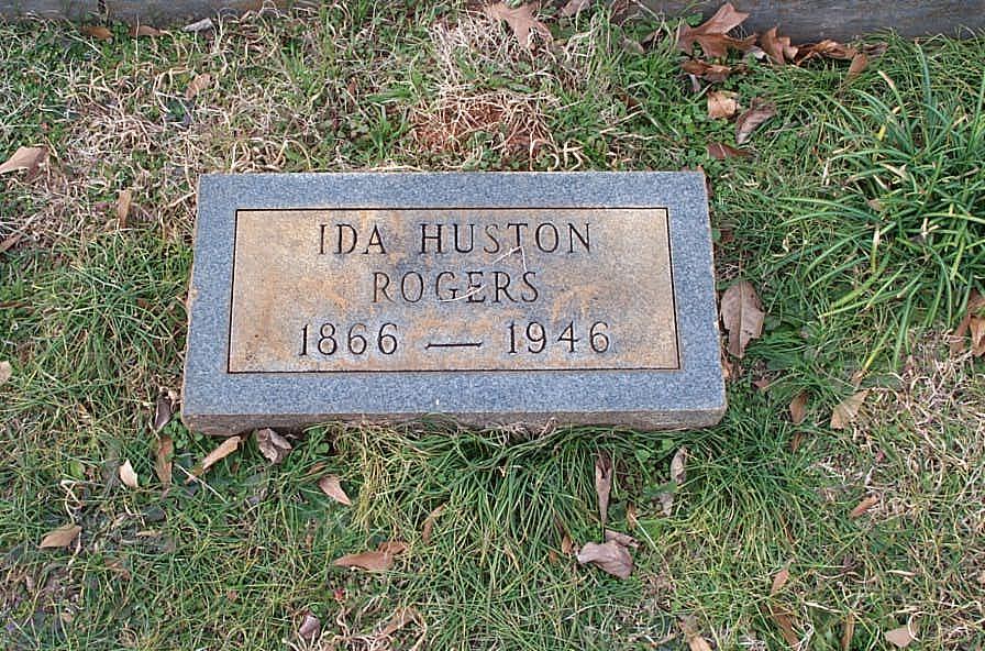 Ida <i>Huston</i> Rogers
