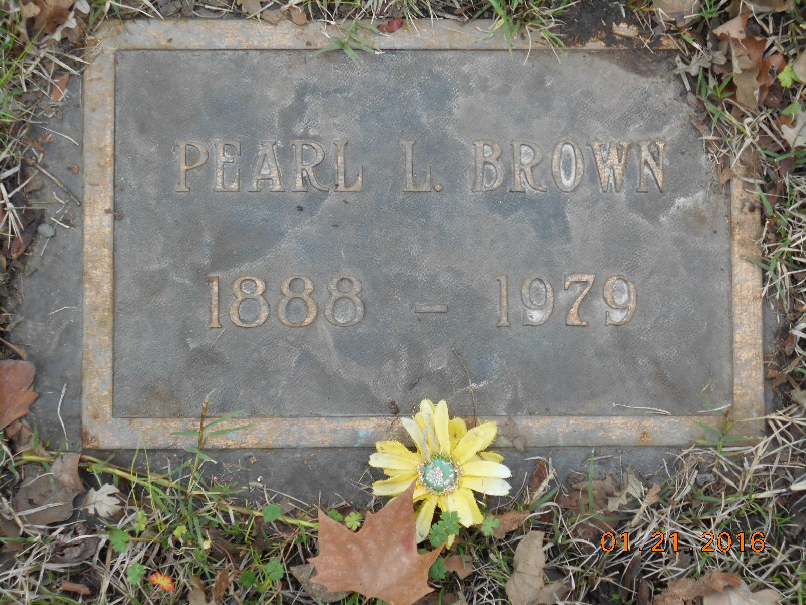 Pearl Leila <i>Hassett</i> Brown