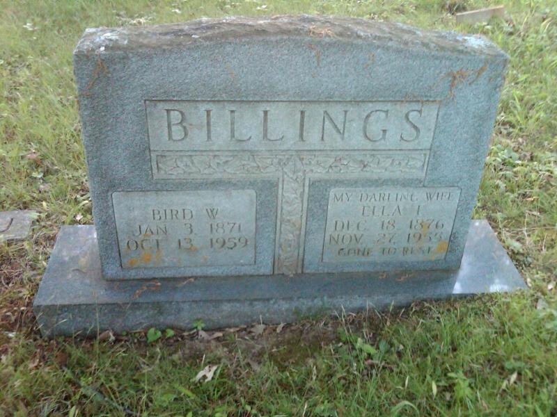 Ella T <i>Starling</i> Billings