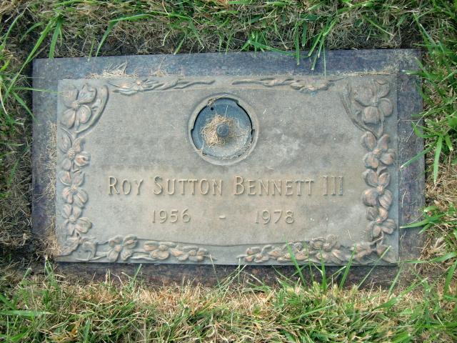 Roy Sutton Bennett, III