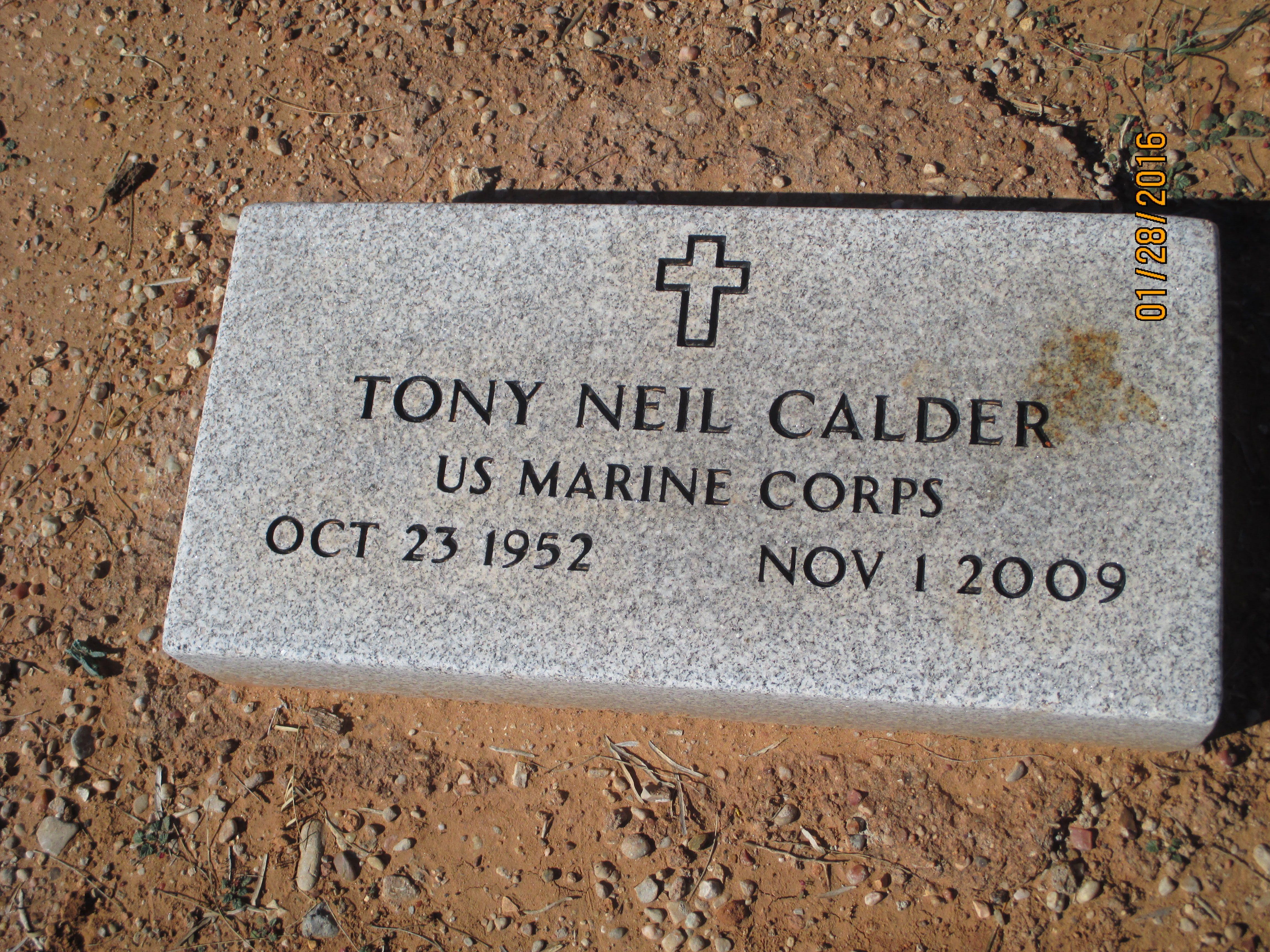 Tony Neil Neil Calder