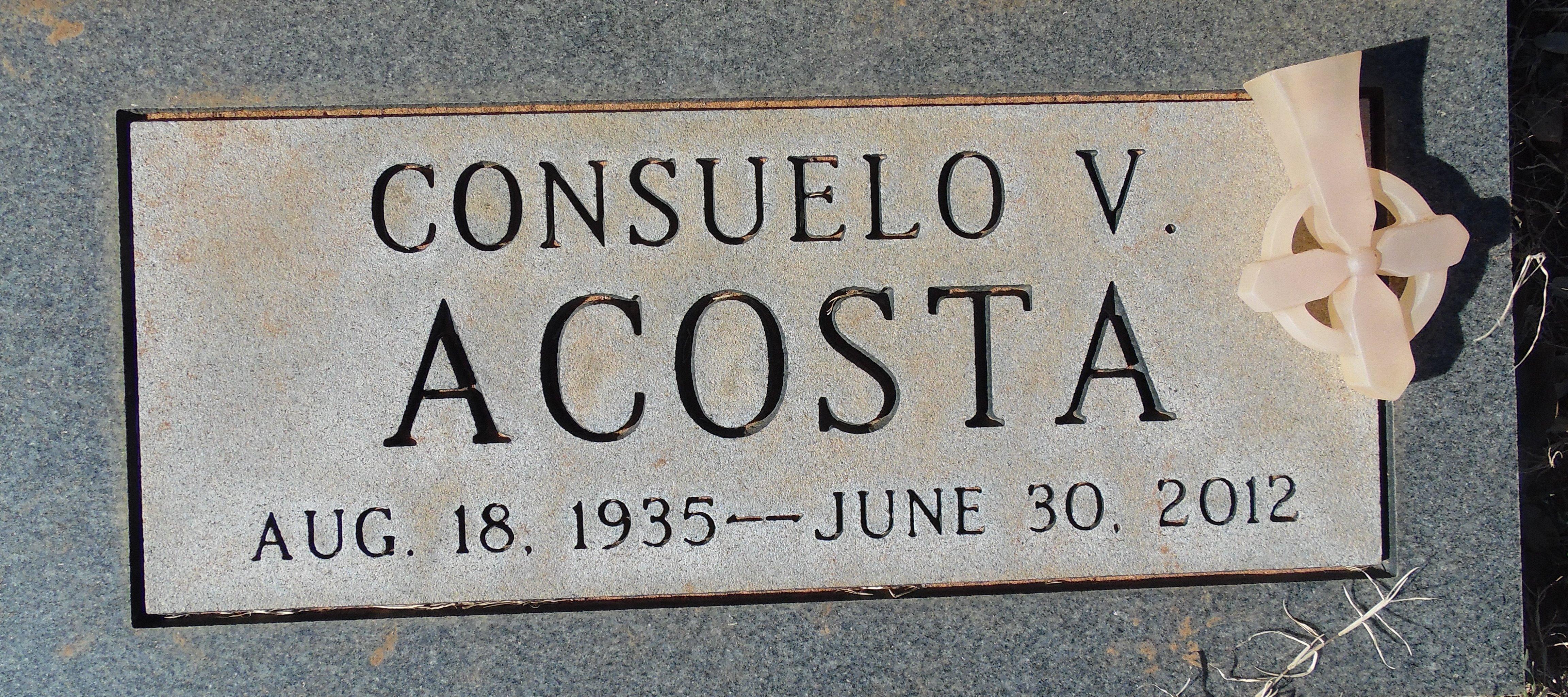 Consuelo <i>Vasquez</i> Acosta
