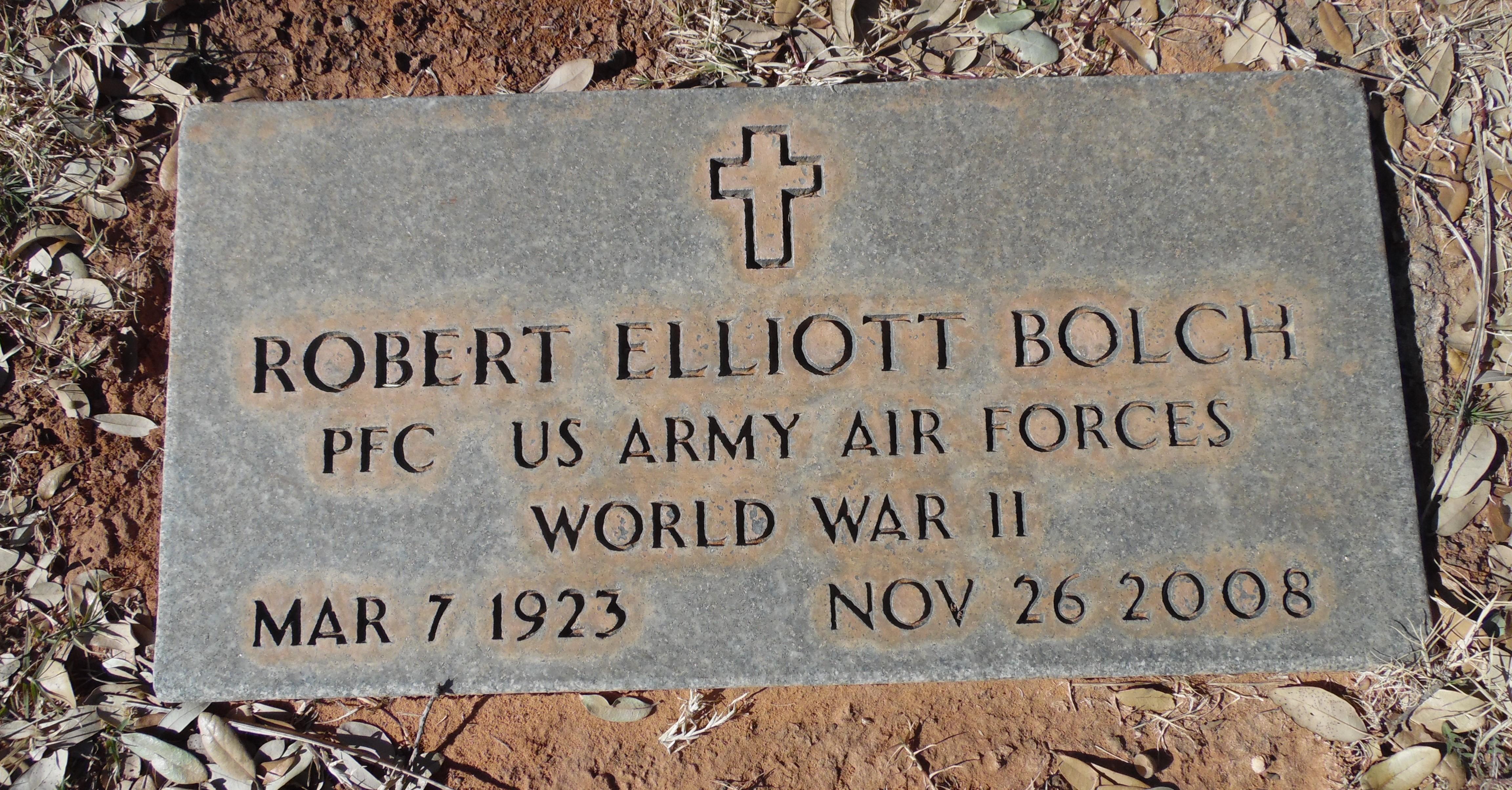 Robert Elliott Bolch