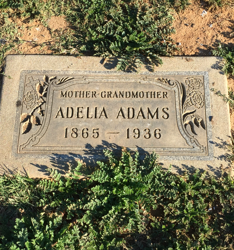 Adelia Adams