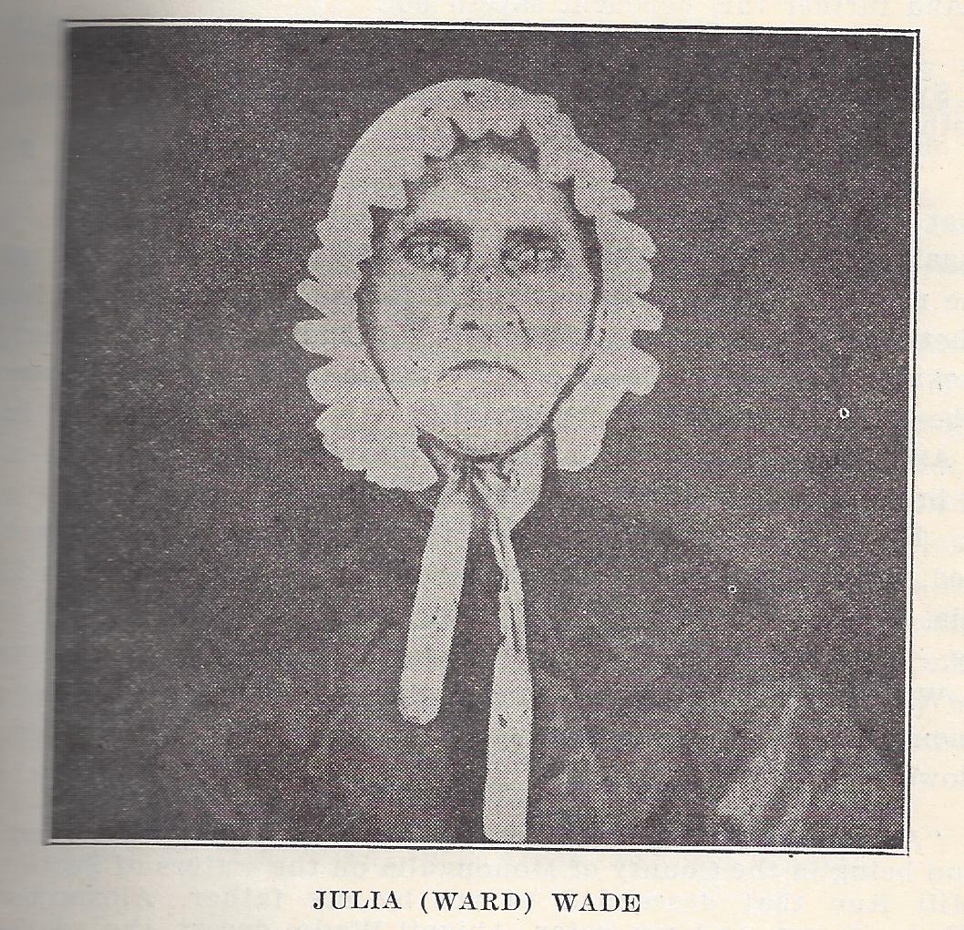 Julia <i>Ward</i> Wade