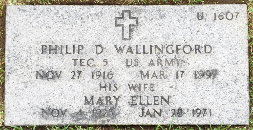 Philip D Wallingford