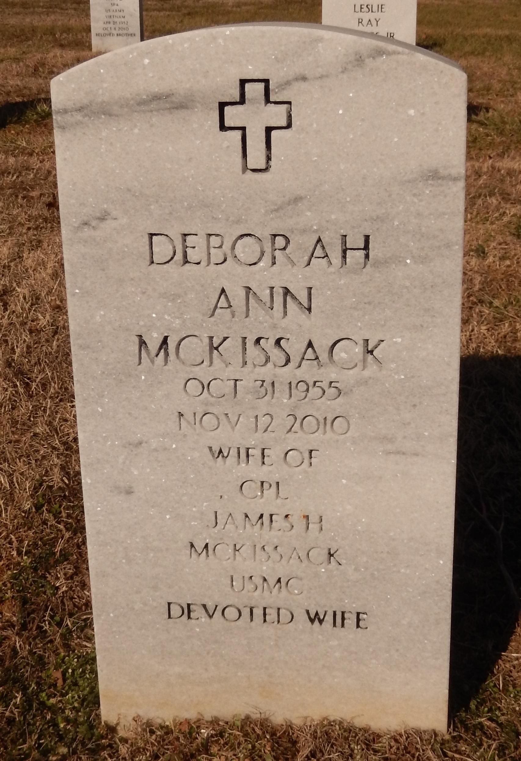 Deborah Ann Mckissack