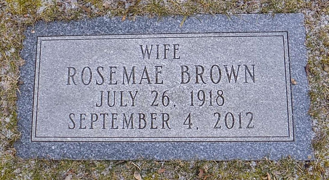 Rosemae <i>Imhoff</i> Brown