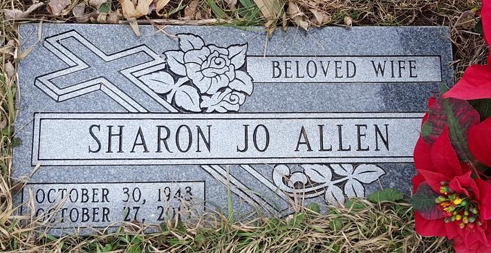 Sharon Jo <i>Taylor</i> Allen