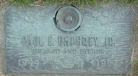 Paul Eugene Paulie Umphrey, Jr