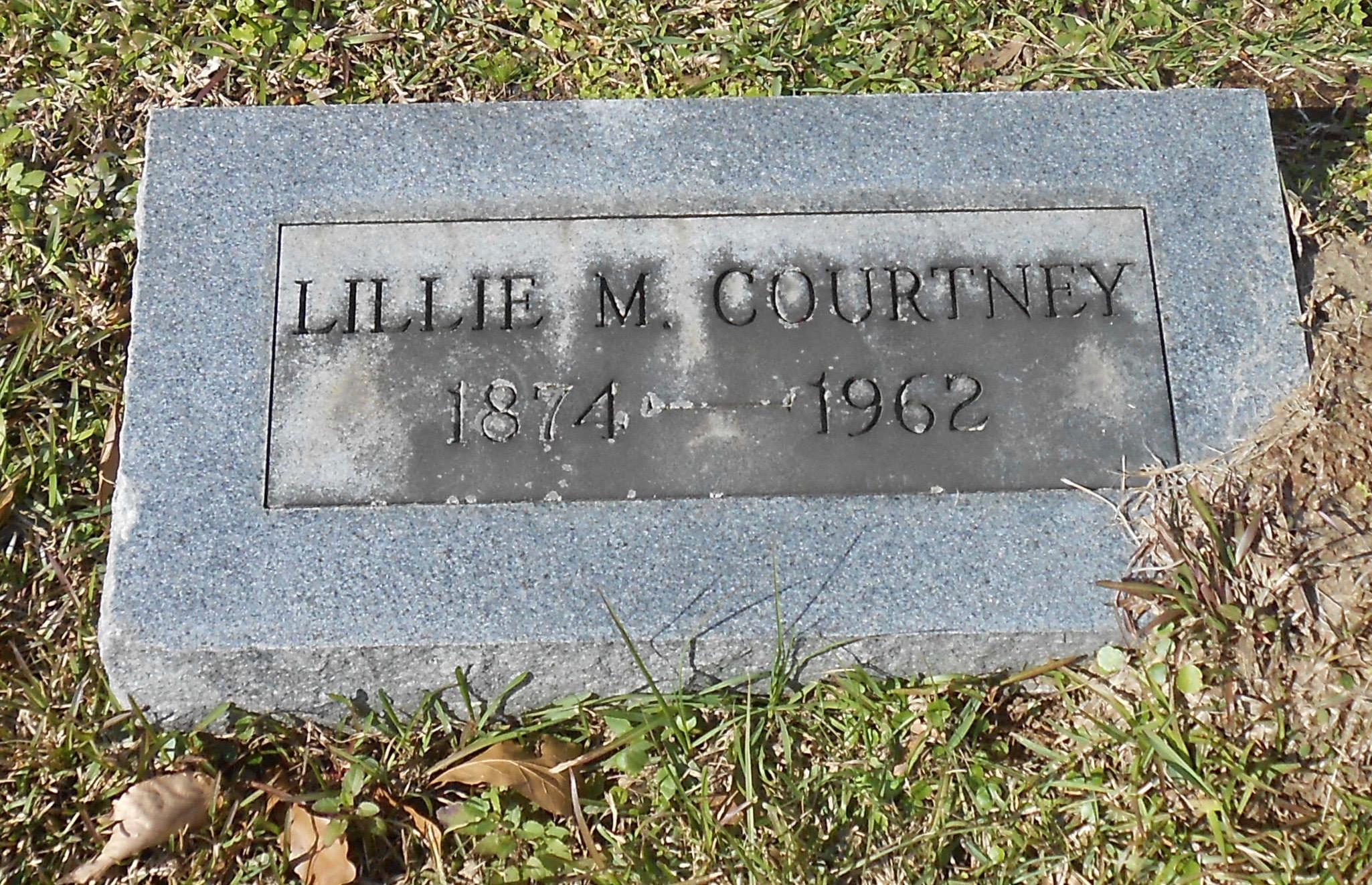 Lillie M Courtney