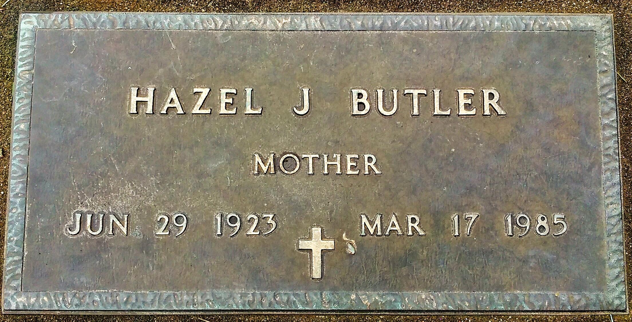 Hazel Jean Butler