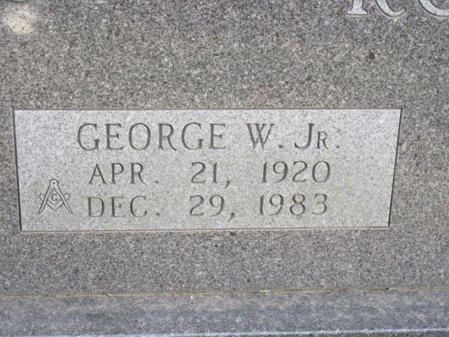 George W Roberts