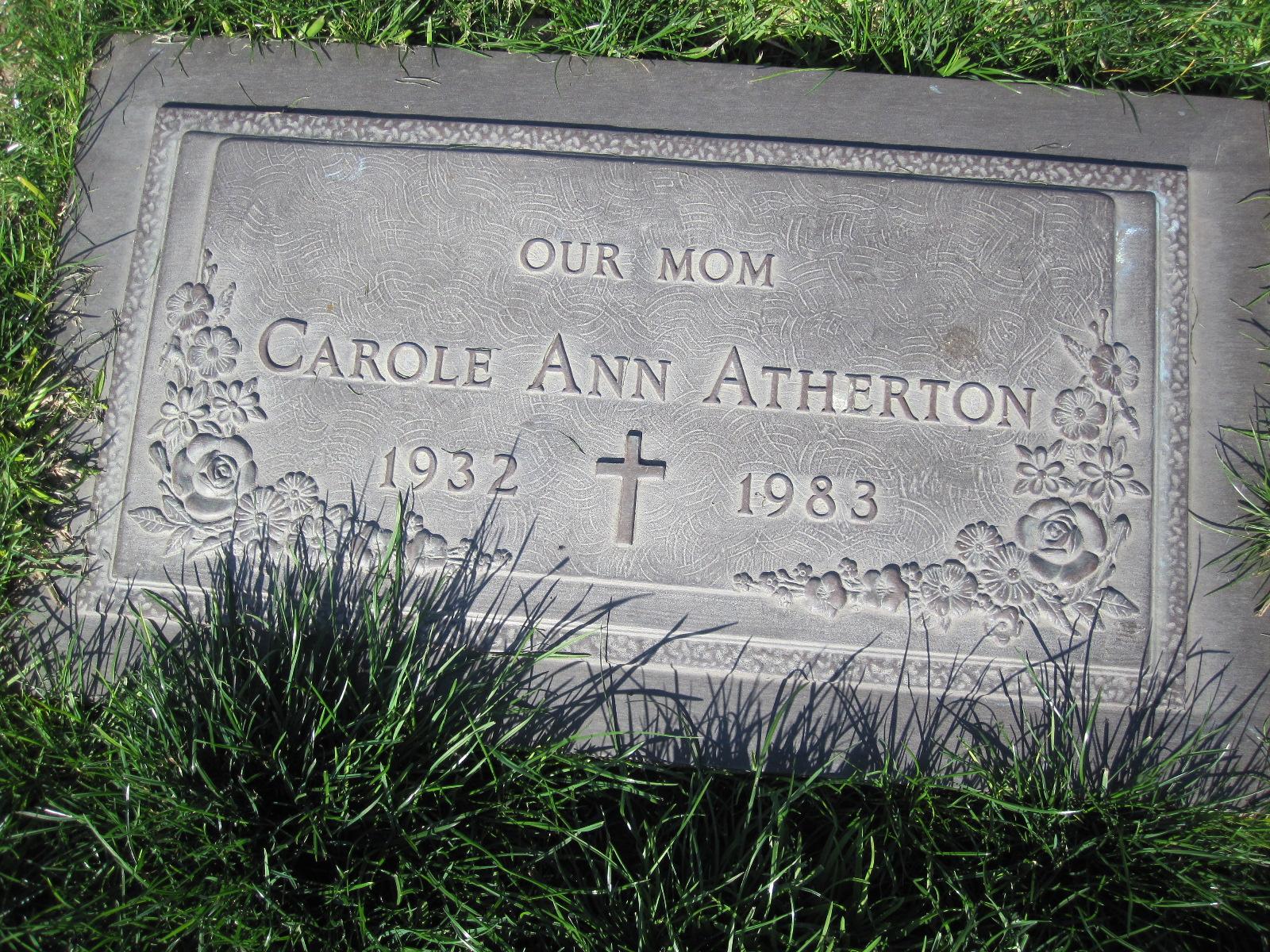 Carole Ann <i>Simpson</i> Atherton