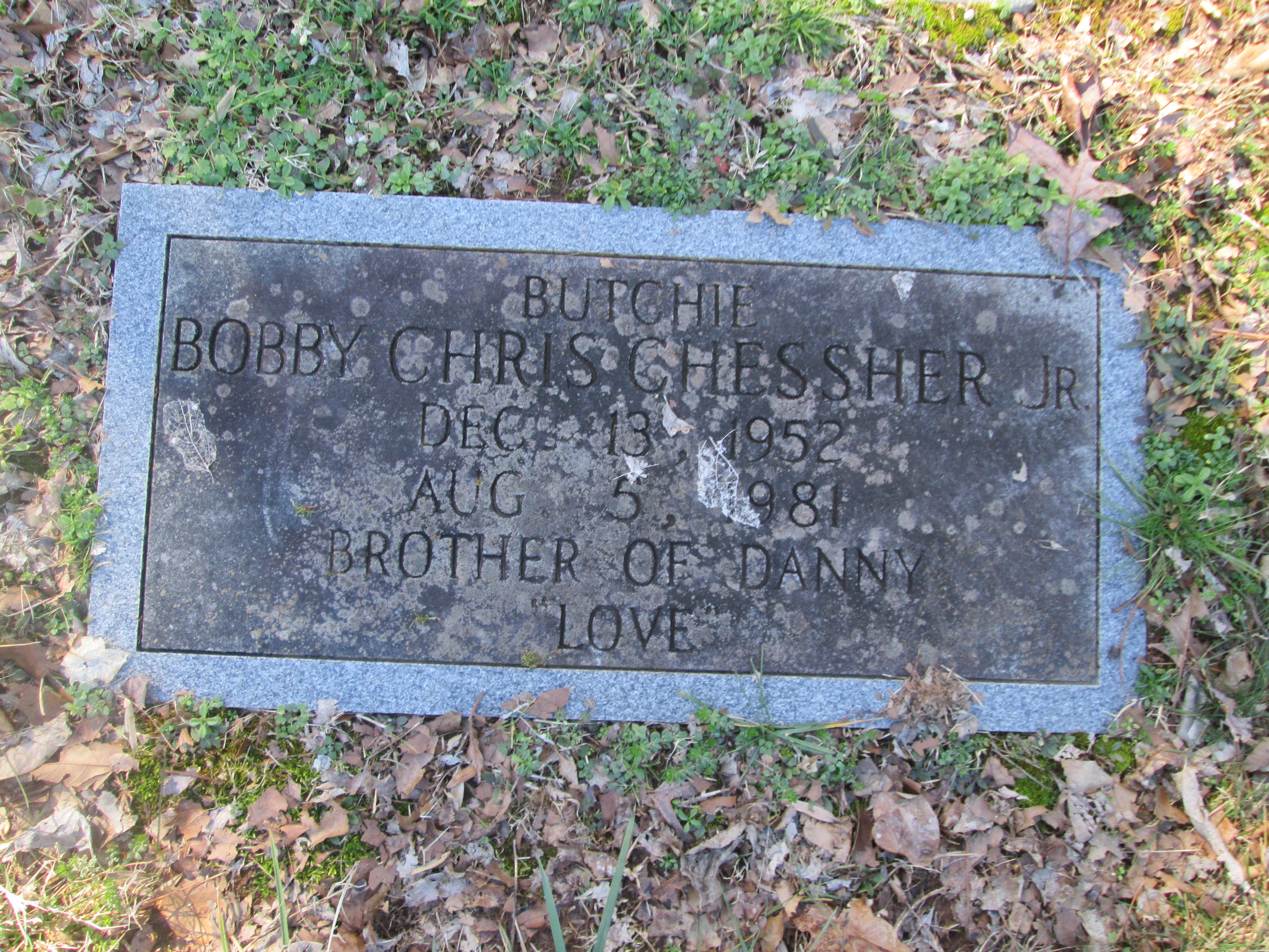 Bobby Chris Chessher, Jr