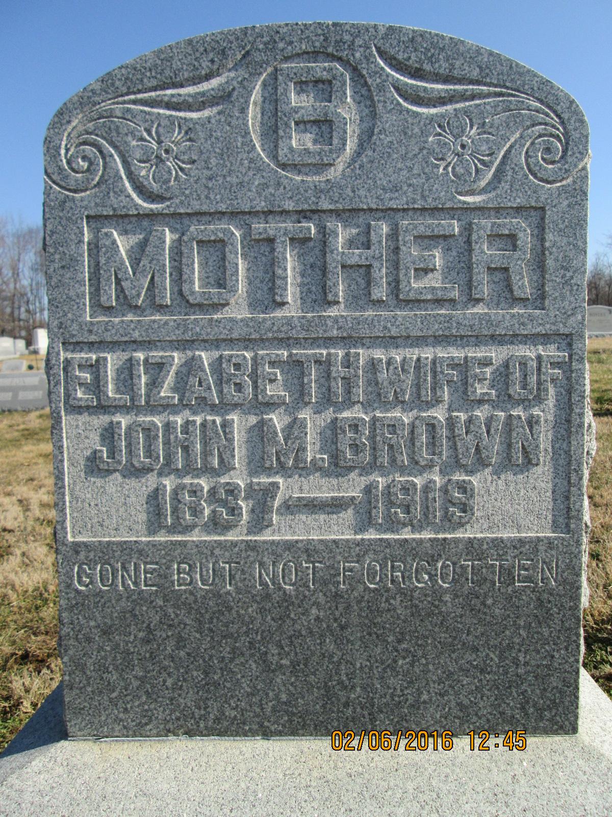 Elizabeth <i>Payne</i> Brown