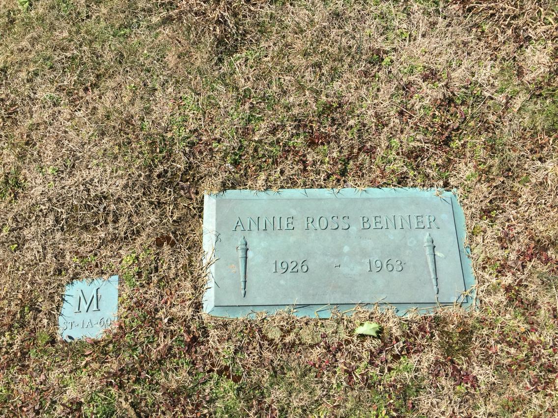 Annie Ross <i>Murphy</i> Benner