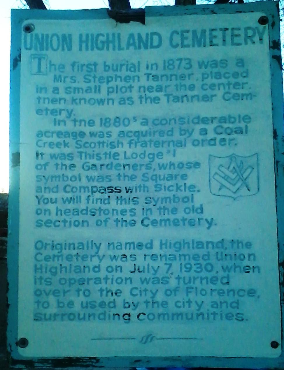 Union Highland Cemetery
