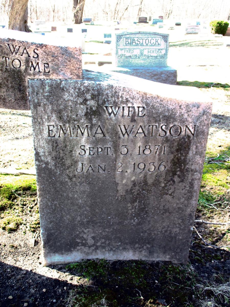 Emma <i>Ruxton</i> Watson
