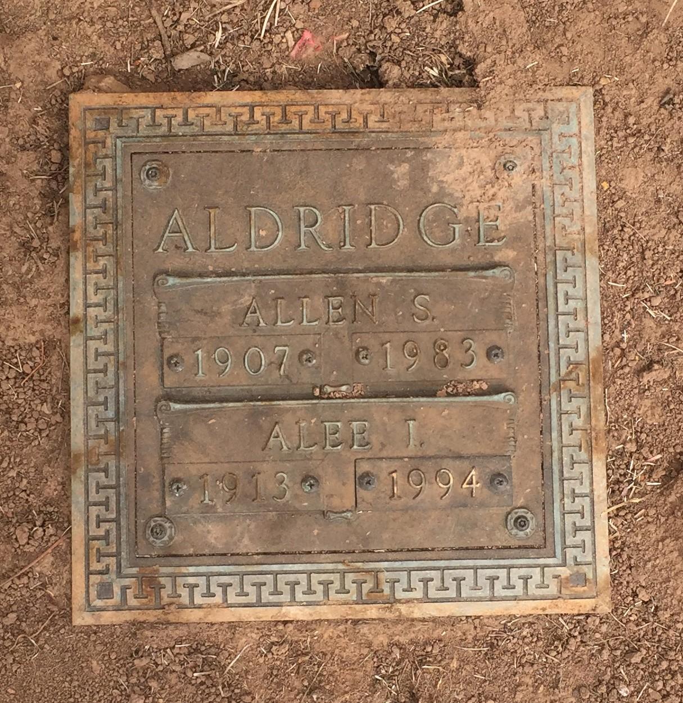 Alee <i>Isaacs</i> Aldridge