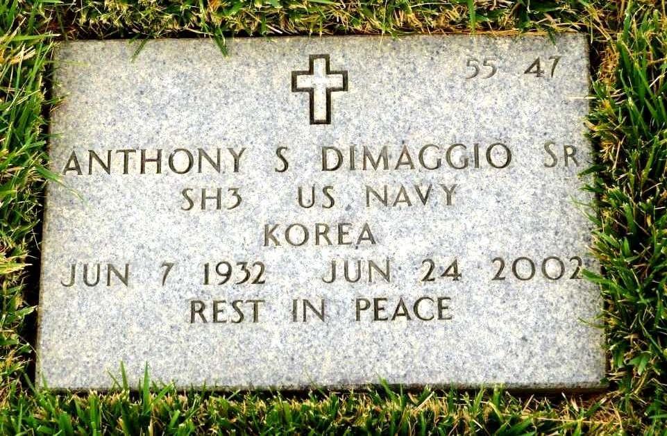 Anthony S Dimaggio, SR
