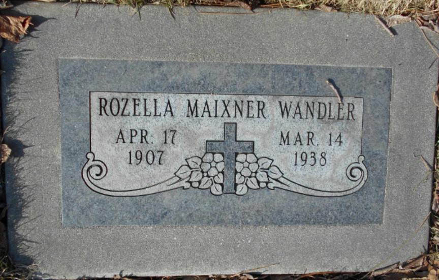 Rozella <i>Maixner</i> Wandler