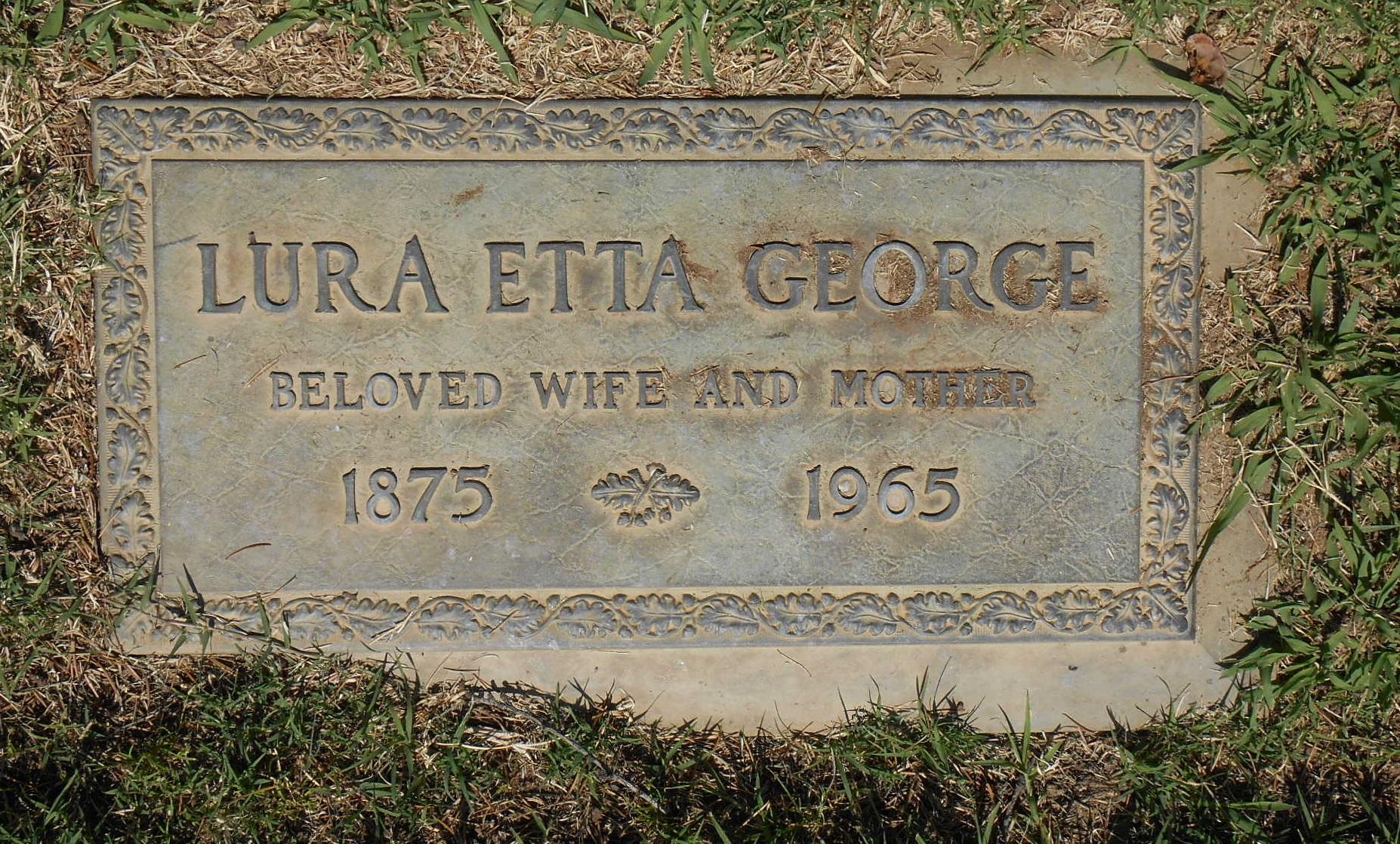 Lura Etta <i>Taylor</i> George