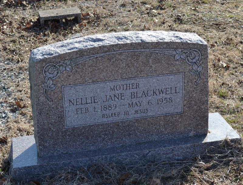Nellie Jane Blackwell
