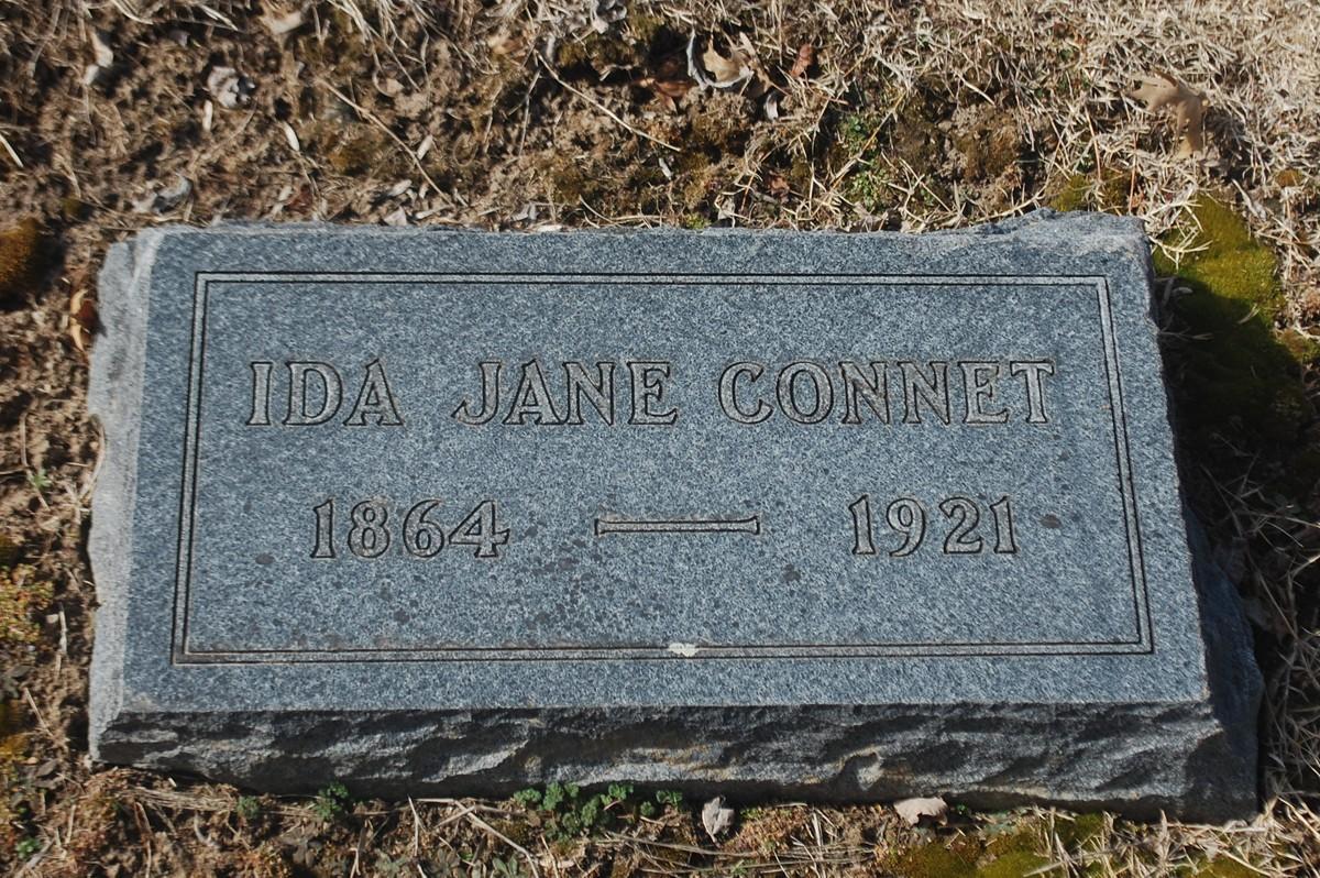 Ida Jane <i>Curtis</i> Connet